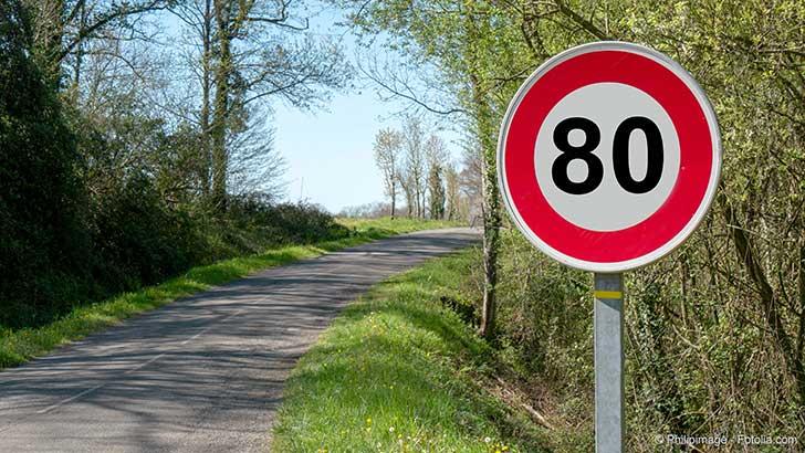 Pour les automobilistes le passage aux 80 km/h est une source d'économie