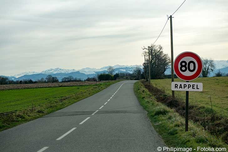 Je roule � 80 km/h � ou est le probl�me ? (Olivier Kauf)