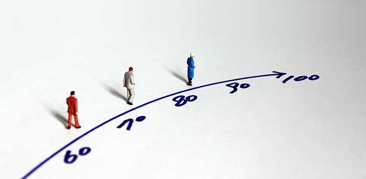 Il ressort des statistiques de l'Insee que la population française vieillit