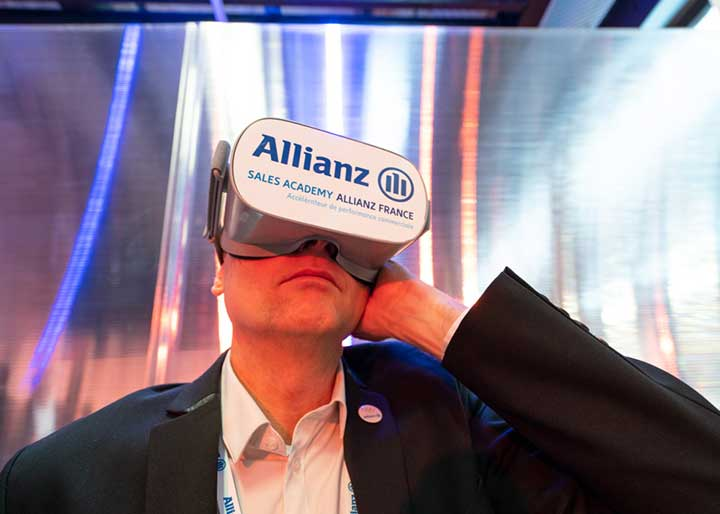 Allianz France utilise la r�alit� virtuelle pour former ses �quipes