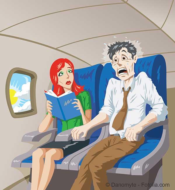 La peur de l'avion perturbe les déplacements professionnels et coûte cher