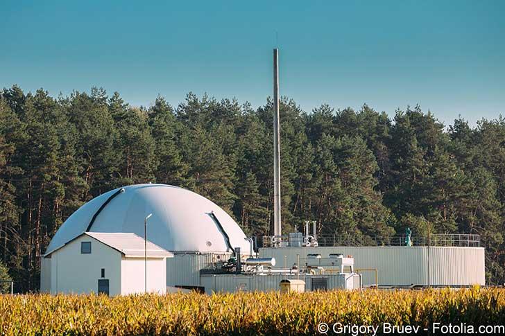 Le biogaz est peut-être une piste ?