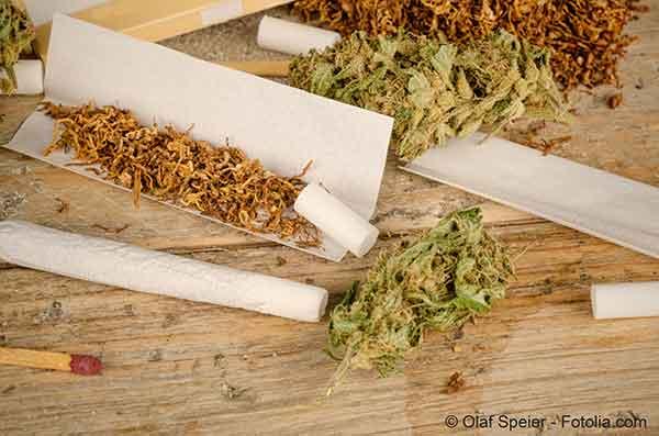 Fumer ou détenir du cannabis sera passible d'une amende