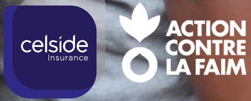 Celside Insurance renouvelle son engagement auprès d'Action Contre la Faim