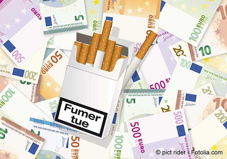 Un niveau de prix dissuasif pourrait réduire la consommation de tabac