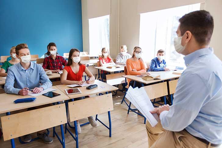 Les masques produisent un effet inattendu dans les écoles