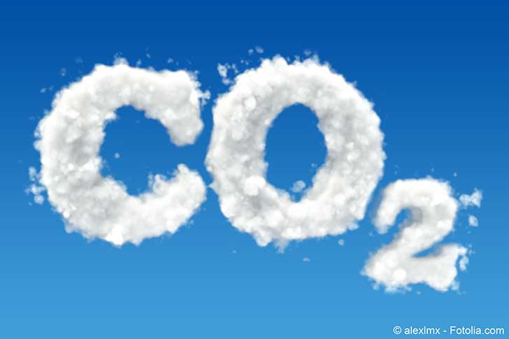 La concentration de CO2 dans l�atmosph�re a augment� de 40 % en 100 ans