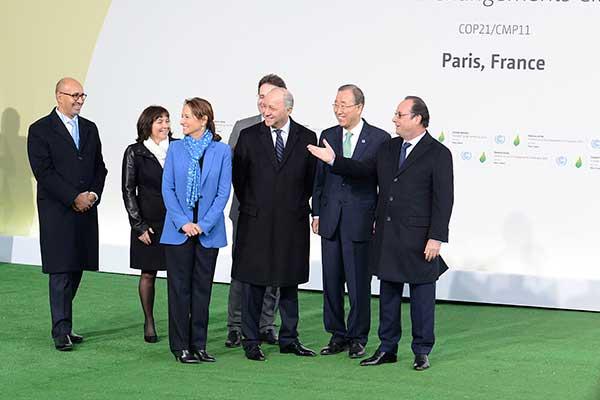 Cinqui�me anniversaire de l�Accord de Paris