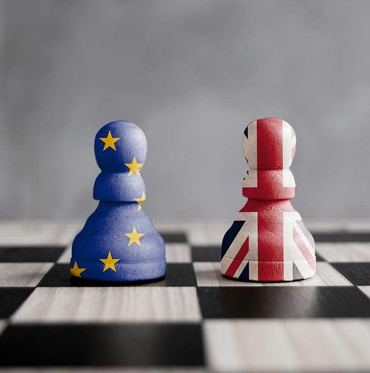 La sortie négociée de la Grande Bretagne de l'Union européenne a du plomb dans l'aile
