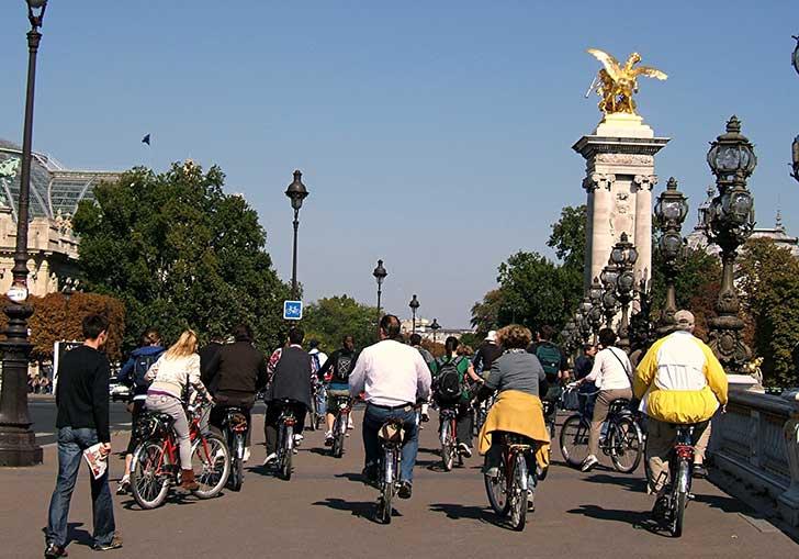 La bicyclette est devenue la reine de la circulation en ville