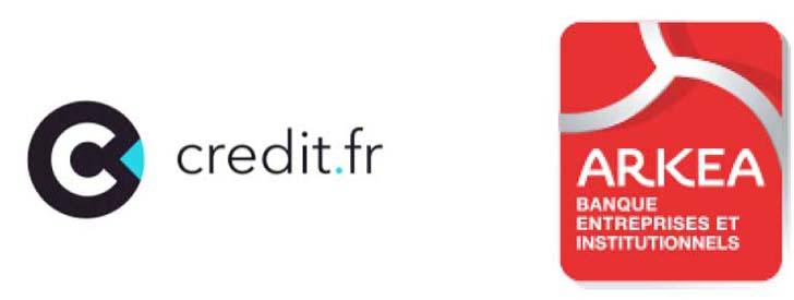 Ark�a Banque Entreprises et Institutionnels nouveau partenaire de Credit.fr