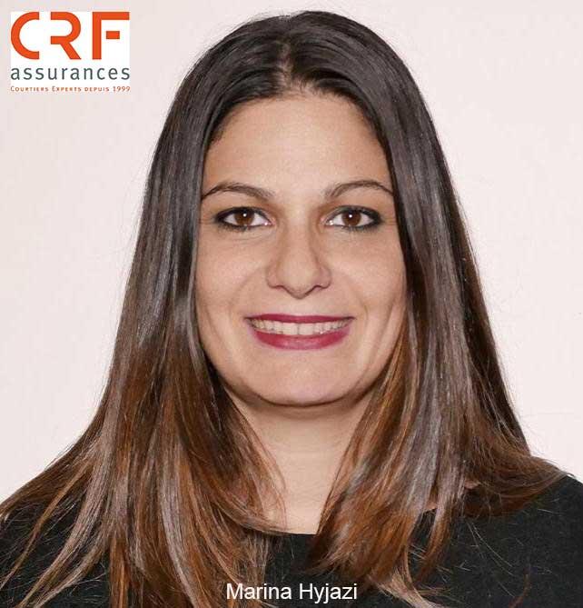 CRF Assurances annonce l�arriv�e de Marina Hyjazi