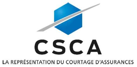 La CSCA cr�e une Commission pour le Courtage Affinitaire