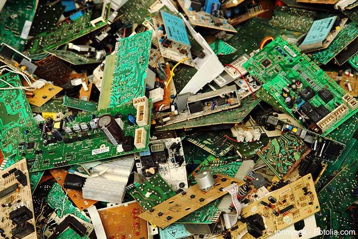 Les métaux des déchets d'informatique sont une mine d'or