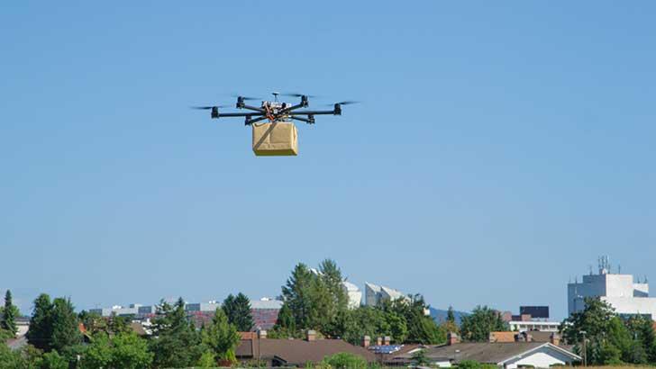 Des drones pour les livraisons médicales