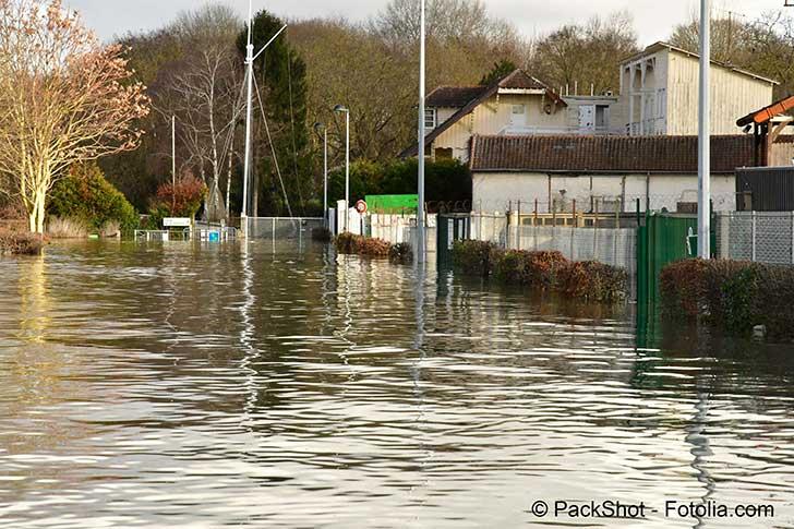 Point sur la constatation des inondations en ce début d