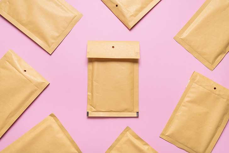 Les enveloppes pour un usage multiples