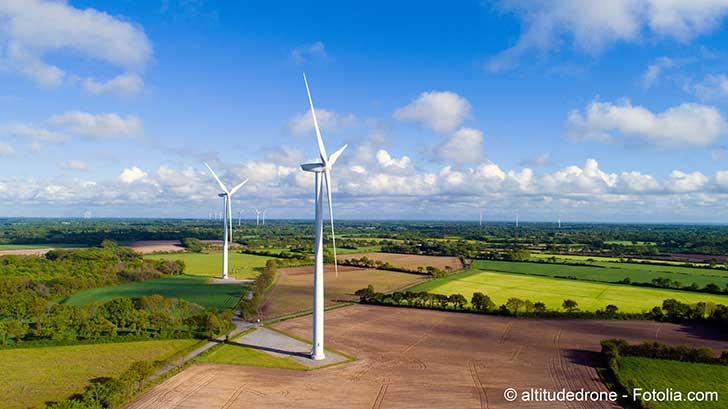 L'éolien français connait une croissance continue