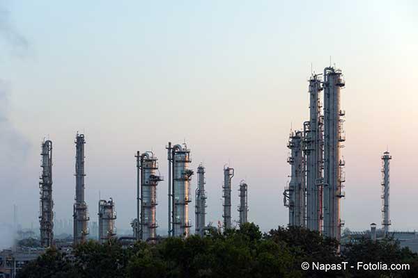 Une industrie actuellement en perte de vitesse celle du gaz naturel liquéfié