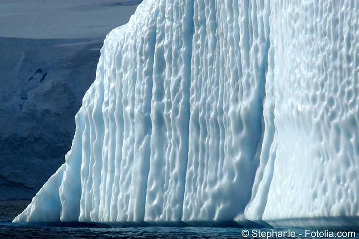 La fonte des glaces qui entourent les pôles Nord et Sud s'accélère