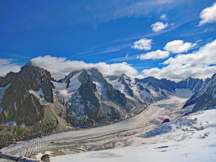 Le président Macron s'attache à la protection du Mont-Blanc et à son écosystème