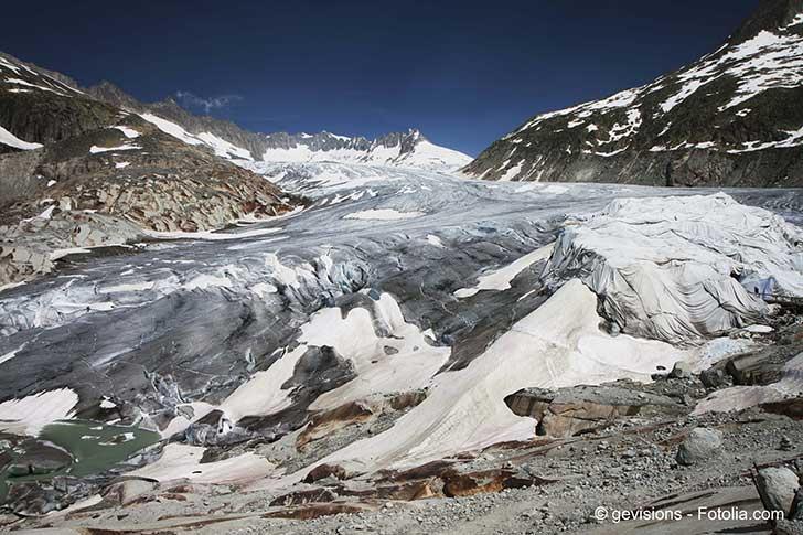 La fonte des glaciers s'accélère partout dans le monde