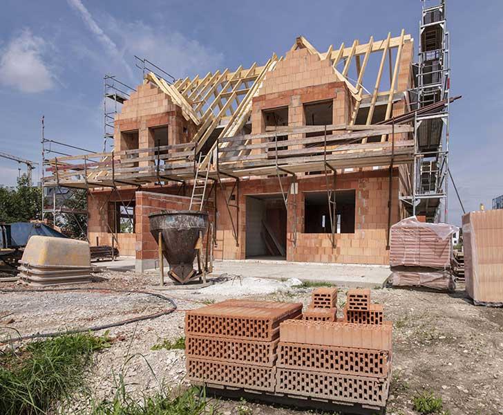 On constate un inqui�tant laisser-aller dans la construction de logements neufs