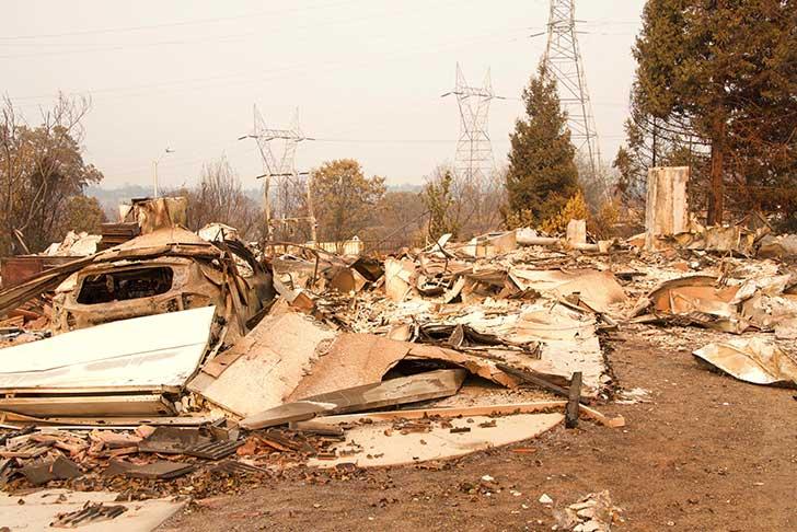 En Californie le Camp Fire �tant ma�tris� c�est l�heure du bilan et des enseignements � en tirer