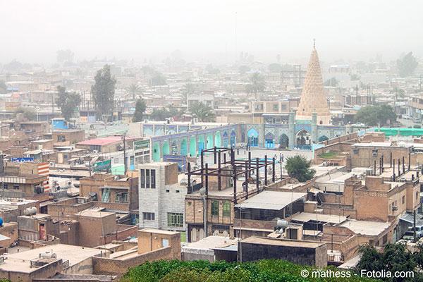 L'Iran a été frappé par des tempêtes de poussière hors du commun