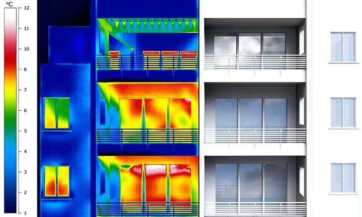 L�isolation thermique des habitations est un probl�me majeur non pris en compte