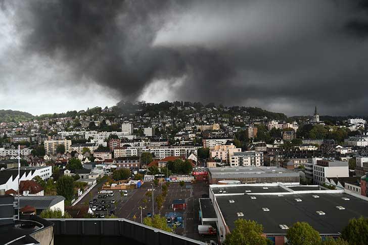 L'incendie Lubrizol tel qu'il s'est produit était annoncé par les inspecteurs d'assurances