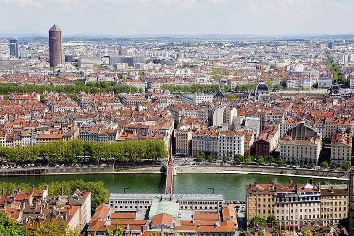 Lyon donne l'exemple de la récupération de l'eau de pluie