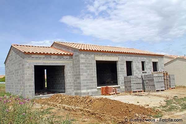 La construction de maisons individuelles avec ses risques n'a pas fléchi