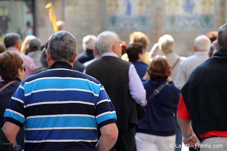 Des retraités ont défilé pour protester contre la hausse de la CSG