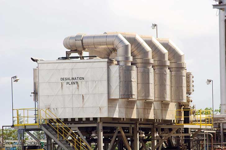 Le dessalement de l�eau de mer produit une quantit� de saumure ind�sirable