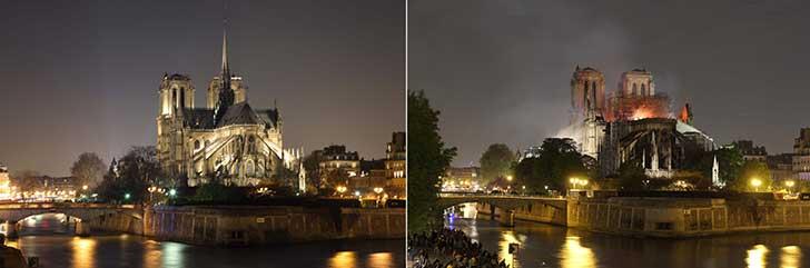 L�incendie de Notre Dame de Paris fait d�j� l�objet de pol�miques