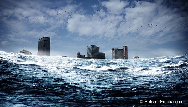 La montée des eaux menace à terme 1,2 milliard d'habitants de la planète