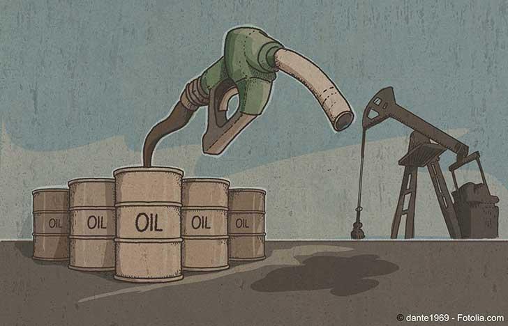 Les cours des carburants sont entr�s dans une phase haussi�re