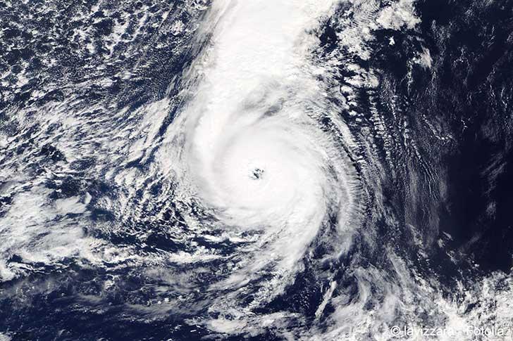 L'ouragan Ophélia était visible en Bretagne