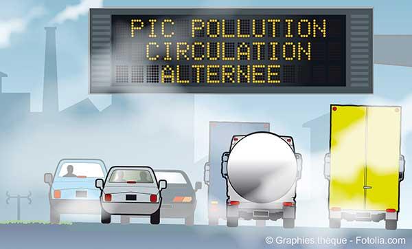 Désaccord au sommet de l'Etat et Paris sur les mesures anti-pollution