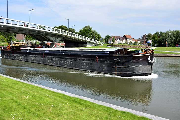Le transport fluvial est un mode de fret �conomique et peu polluant