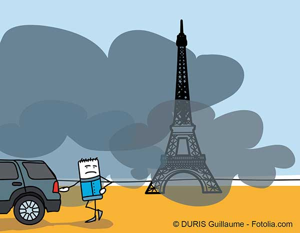 La pollution en Ile de France n'est plus exceptionnelle mais n'est pas traitée correctement