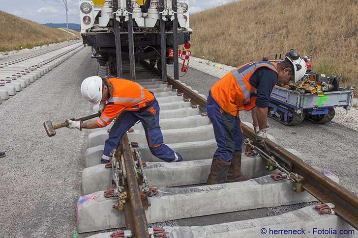 L�Italie s�est engag�e � poursuivre la construction de la liaison ferroviaire Lyon-Turin