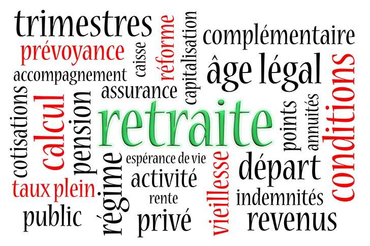 Mesures paramétriques en attendant l'entrée en vigueur de la réforme des retraites