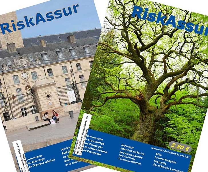 Abonnez-vous au magazine RiskAssur-hebdo, en un seul clic