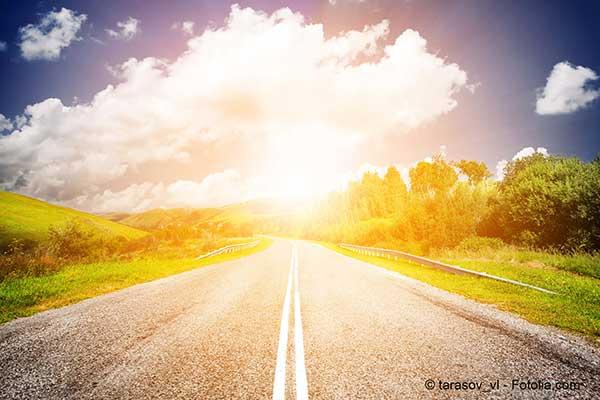 Demain les routes éclaireront les villes qu'elles traversent