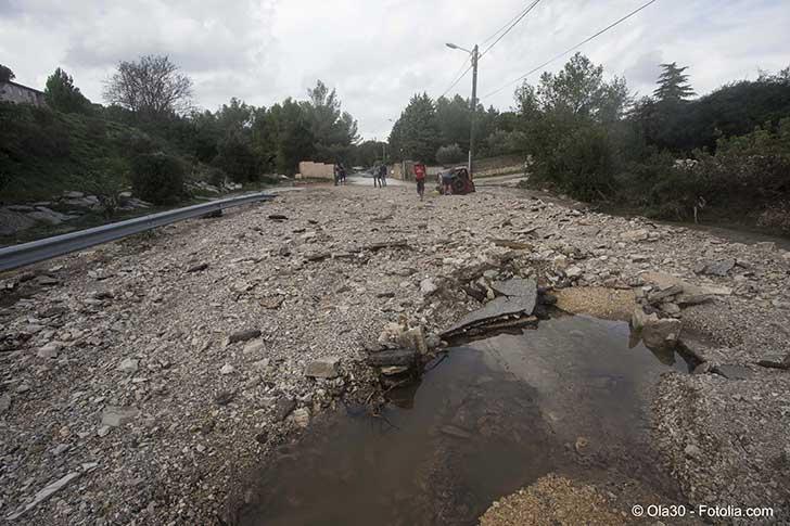 Bruno Le Maire a chiffré les dégâts dans l'Aude à 200 millions d'euros