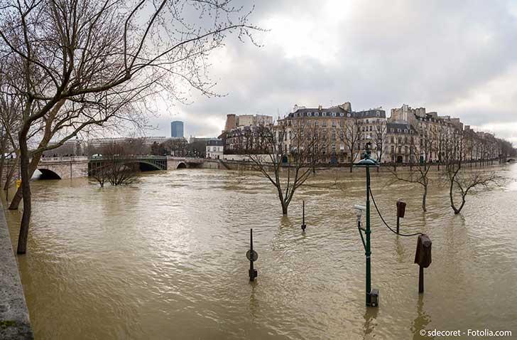 La taxe inondation est un sujet d