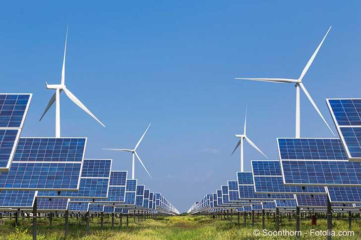 La France vise les 100% d��nergies renouvelables