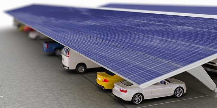 Les friches et les parkings sont des supports r�v�s pour des panneaux solaires